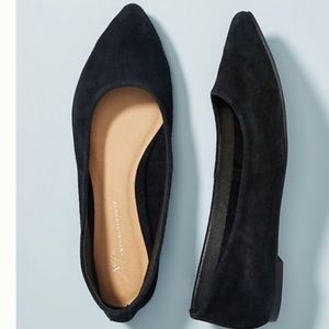 Anthropologie | Pointed Toe Flats sz 9
